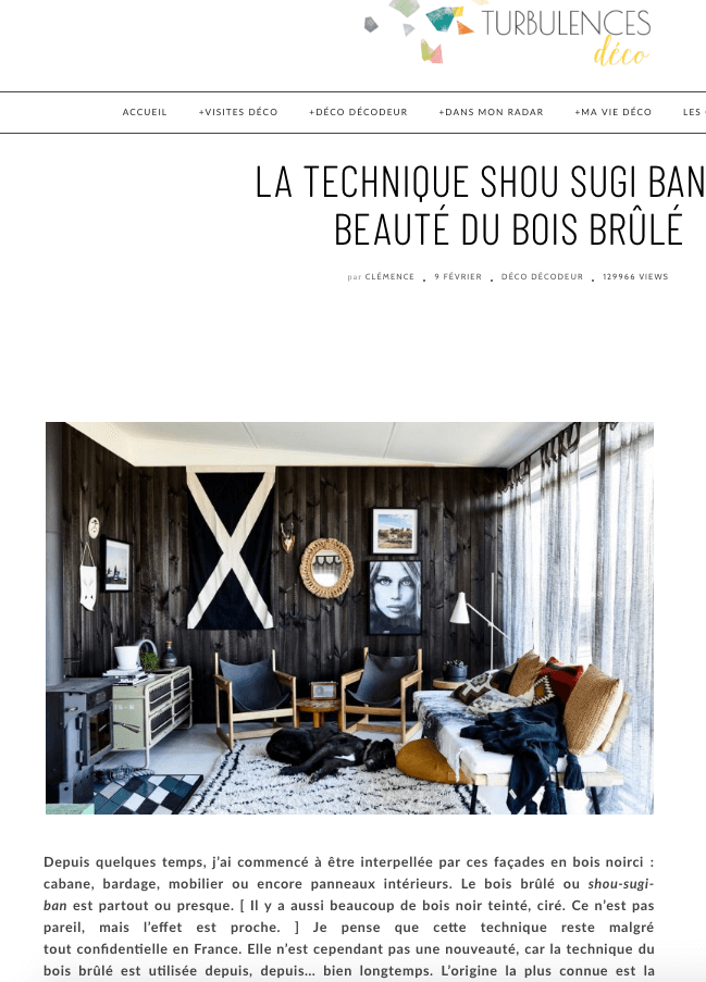 noirdebois actualit s. Black Bedroom Furniture Sets. Home Design Ideas